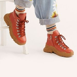 Jeffrey Campbell x Free People Bowery Hiker Boot